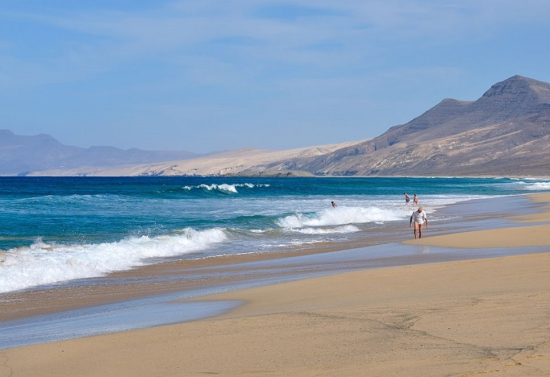 Plage Cofete Canaries