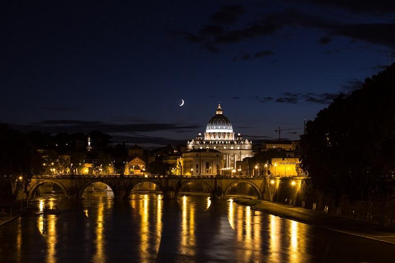 Rome nuit vatican