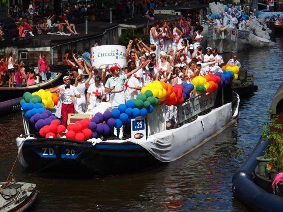 Défilé de la Gay Pride Day à Amsterdam