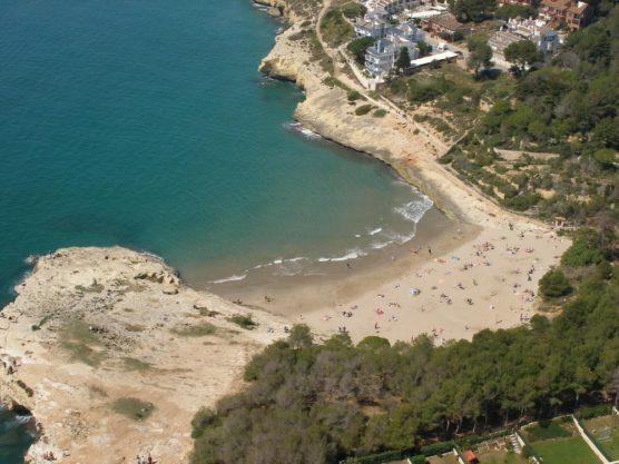 Buchten in Tarragona Canyadell