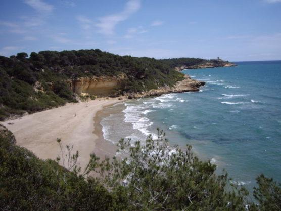 Buchten in Tarragona waikiki