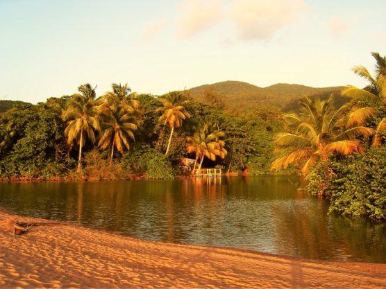 Reiseziele im Winter Guadeloupe
