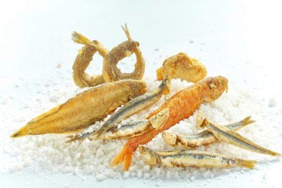 Frite de poisson au restaurant d'El Faro